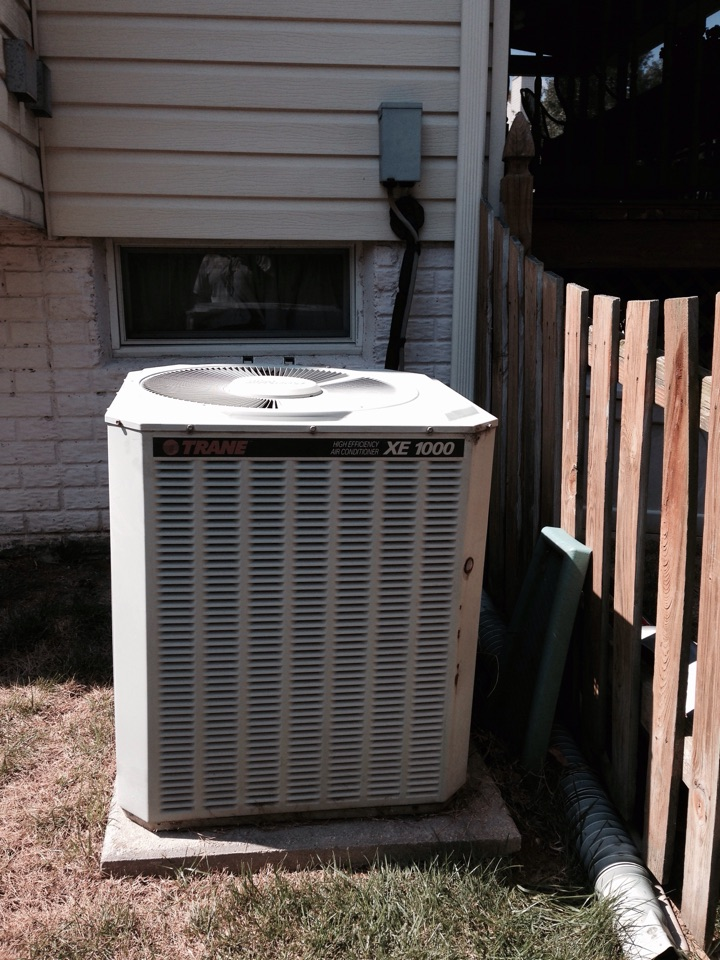 Crofton, MD - trane gas furnace heating & ac air conditioning system replacement installation repair service call crofton maryland 21114
