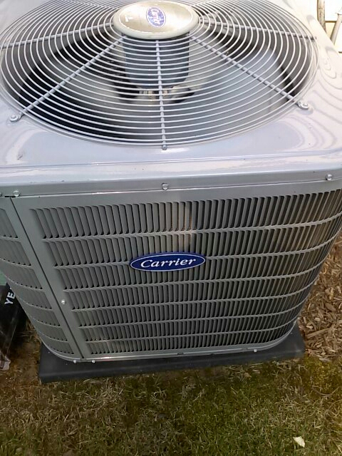 Crofton, MD - Carrier gas heating furnace & air conditioning system installation repair service call Crofton Maryland 21114
