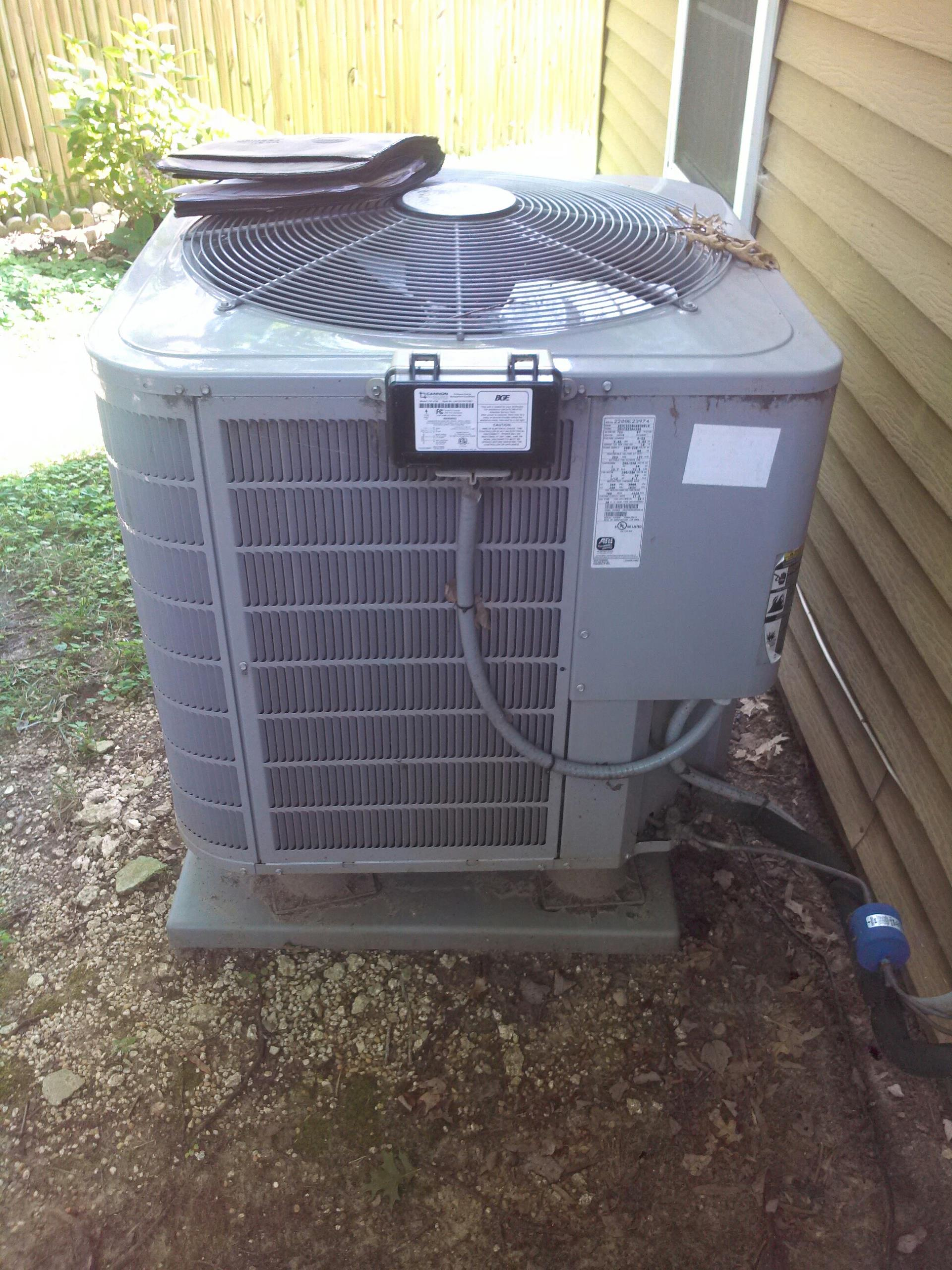Crofton, MD - Kenmore heat pump heating & air conditioning system replacement installation repair service call crofton maryland 21114