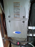 Gambrills, MD - Carrier gas furnace heating & air conditioning system replacement installation repair service call Gambrills Maryland