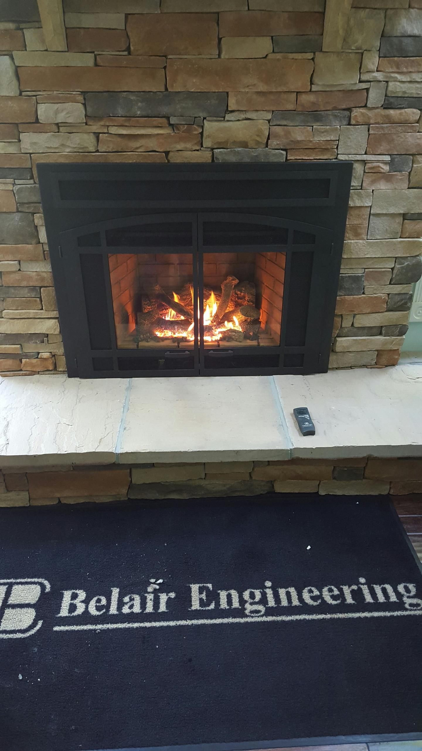 Gambrills, MD - Fireplace Extrordinair gas fireplace insert & gas logs installation repair service call Gambrills Maryland