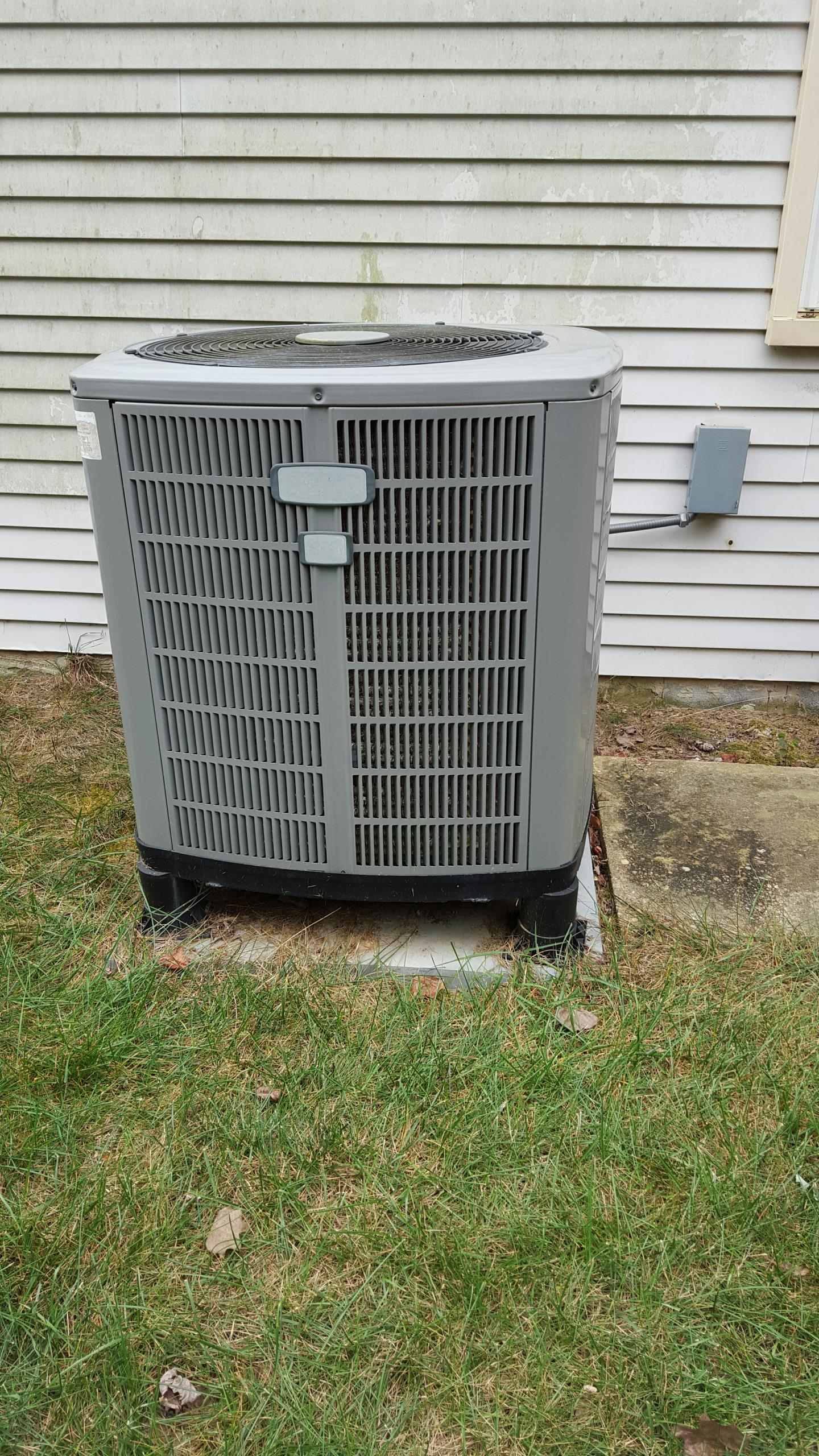 Gambrills, MD - American Standard heat pump furnace heating & air conditioning system replacement installation repair service call Gambrills Maryland