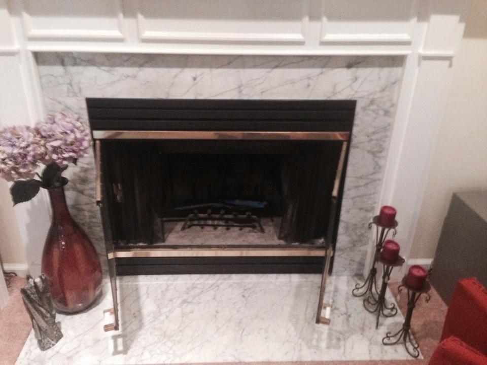 Crofton, MD - Heat N Glo gas fireplace insert & gas logs installation repair service call Crofton Maryland