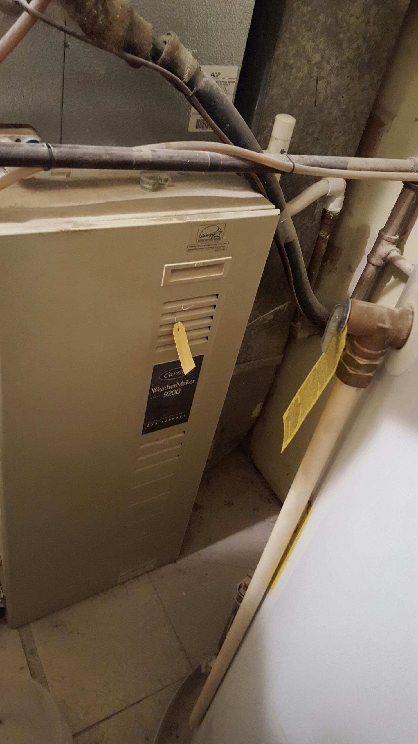Crofton, MD - Gas furnace heating & air conditioning system replacement installation repair service call Crofton Maryland