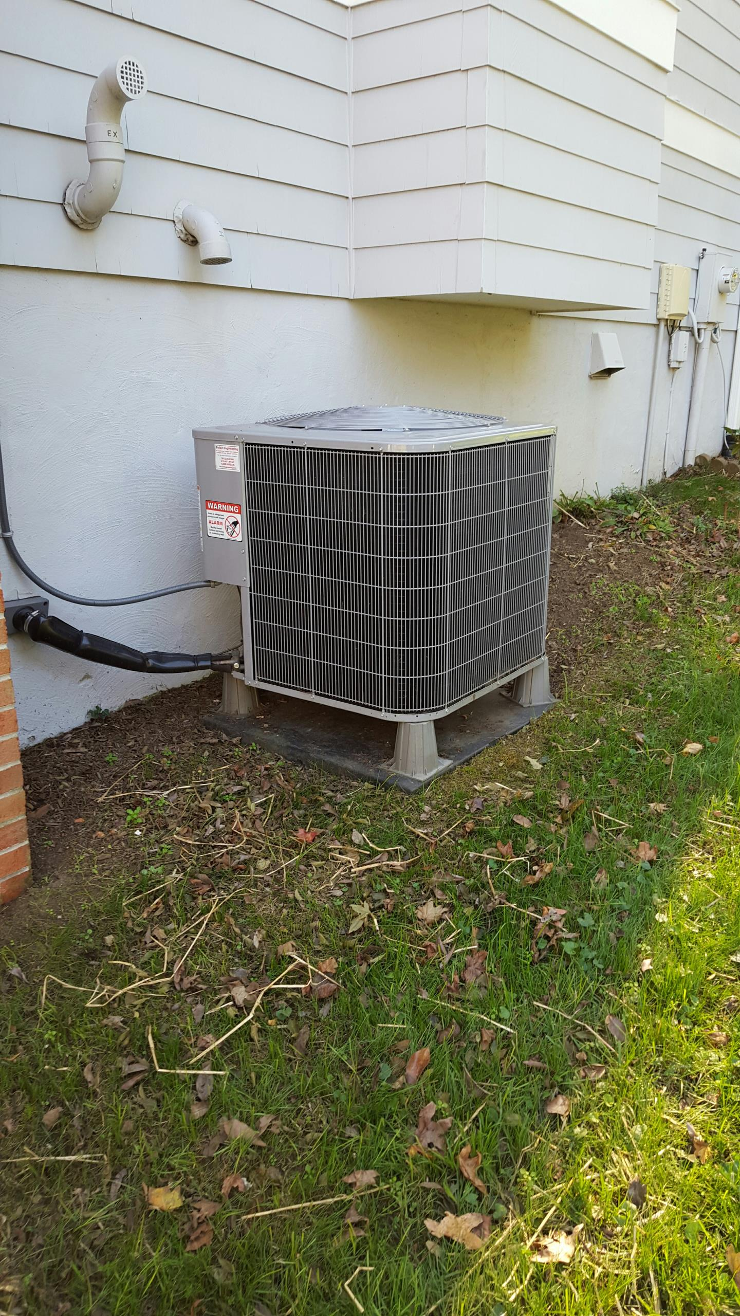 Gambrills, MD - Carrier heat pump heating & air conditioning system furnace filter replacement installation repair service call in Gambrills Maryland