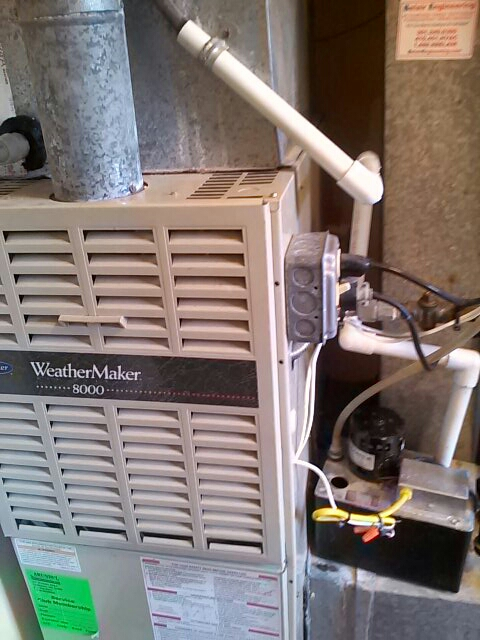 Gambrills, MD - gas furnace heating & air conditioning system repair service call in gambrills maryland