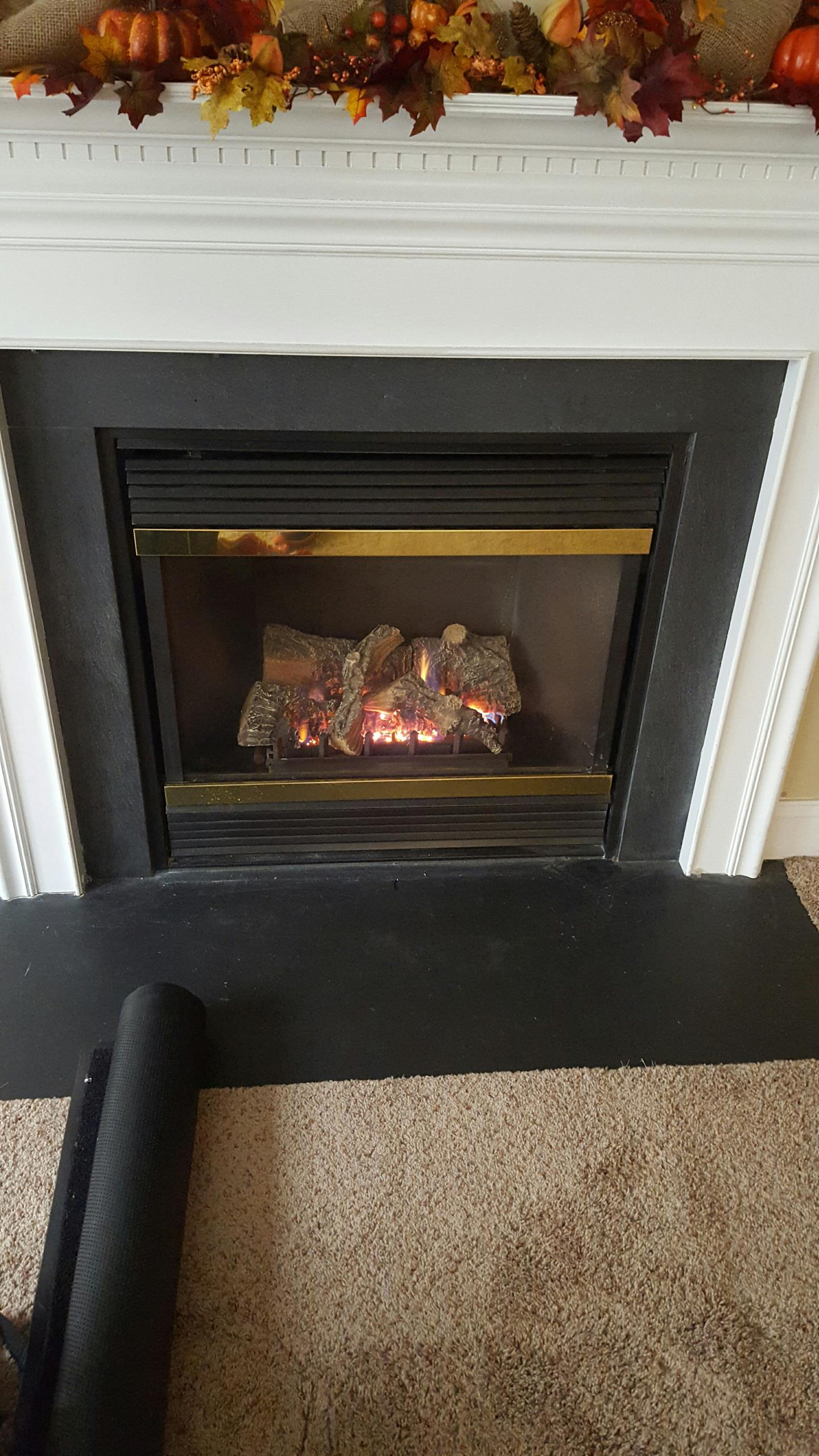 Gambrills, MD - Majestic gas fireplace insert & gas logs installation repair service call Gambrills Maryland