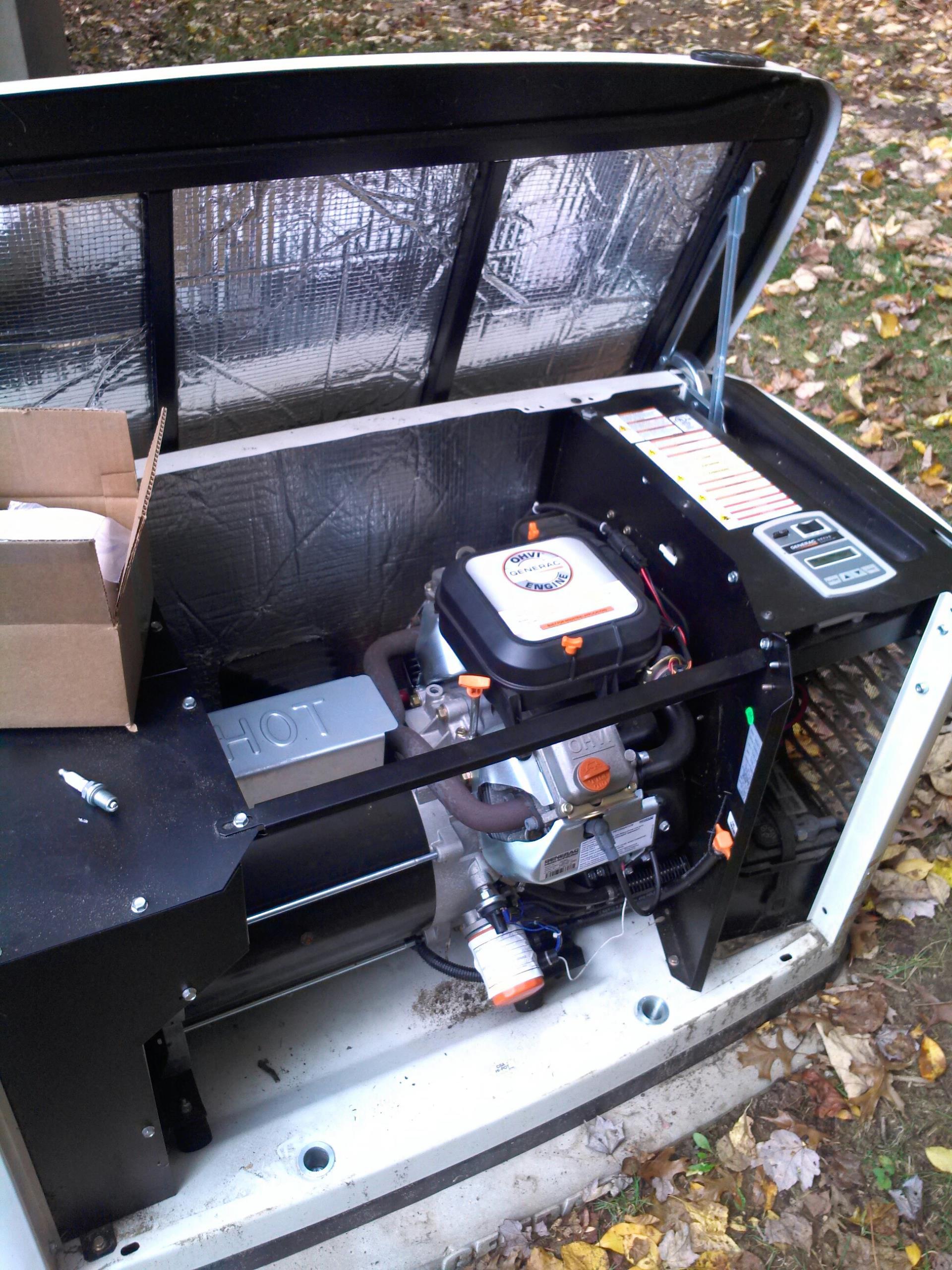 Gambrills, MD - Generac standby backup generator installation repair service call Gambrills Maryland