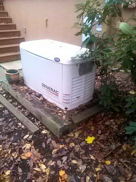 Crownsville, MD - Generac standby generator installation repair service call Crownsville Maryland