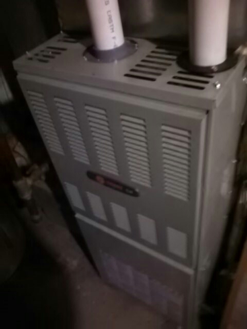 Glenarden, MD - trane gas furnace heating & air conditioning system furnace filter replacement installation repair service call glenarden maryland