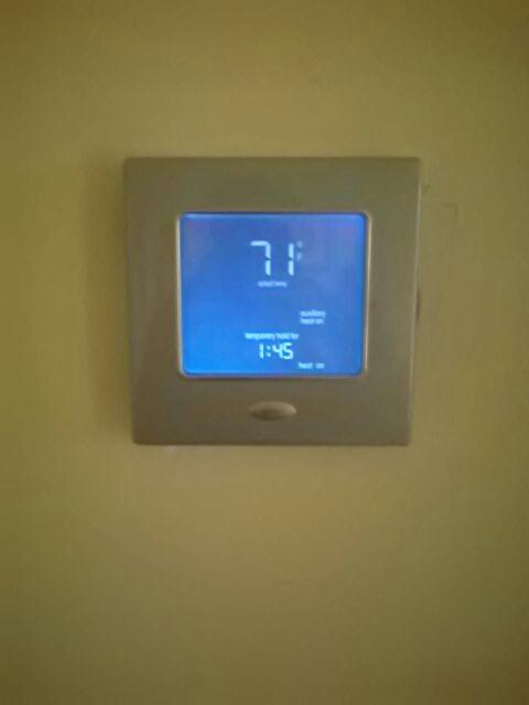 Gambrills, MD - Heat pump furnace heating & air conditioning system maintenance repair service call Crofton Maryland