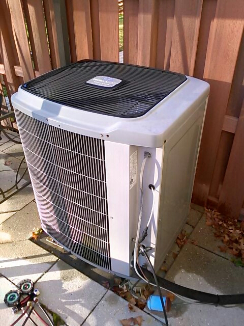 Crofton, MD - Heat pump furnace heating & air conditioning system air filter replacement installation repair service call Crofton Maryland