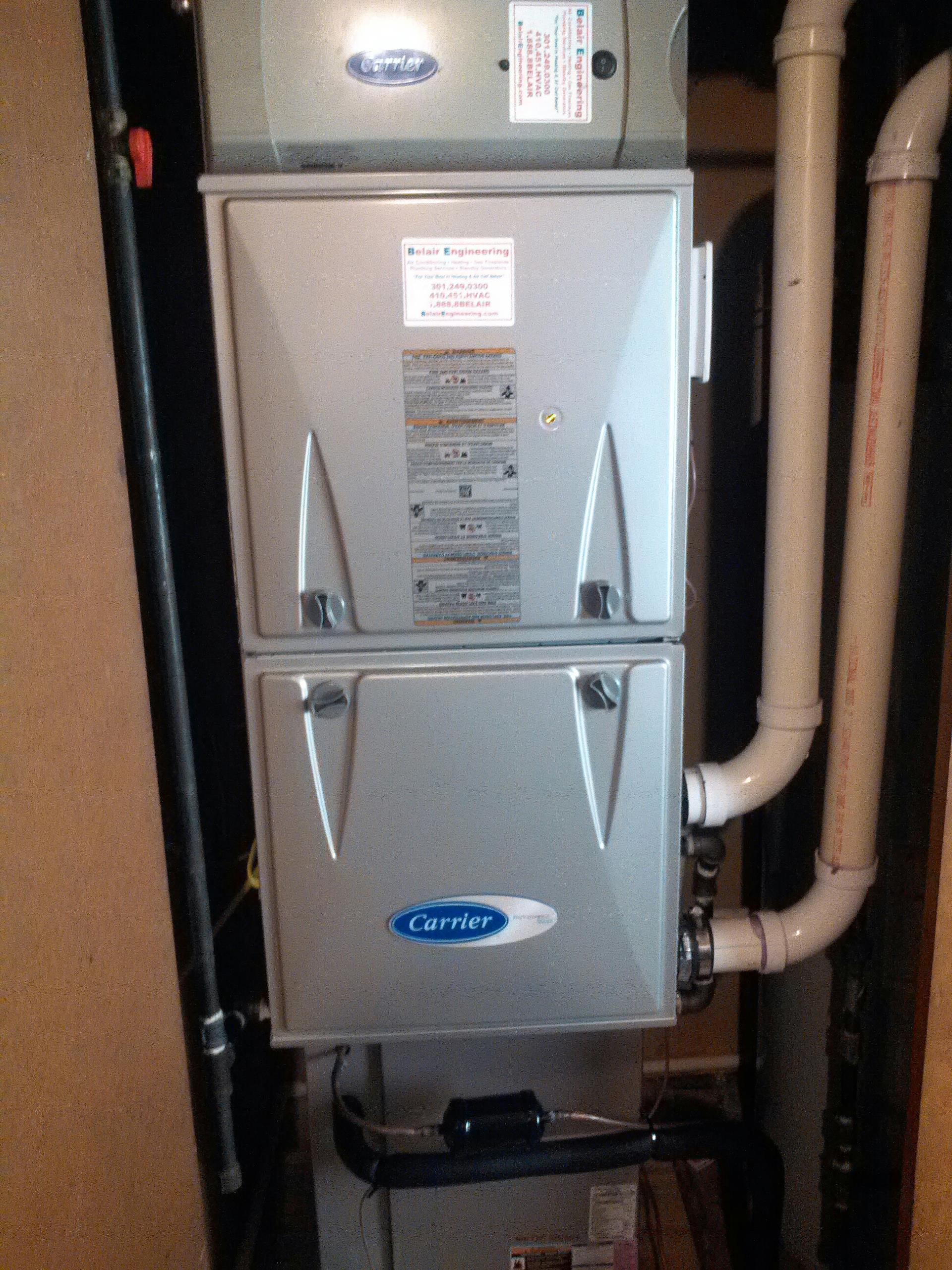 furnace & heat pump heating system repair service in Bowie MD