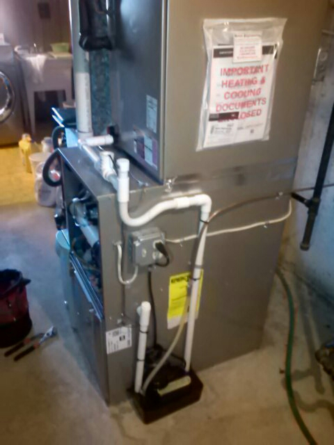 Berwyn Heights, MD - Carrier gas furnace heating & air conditioning system furnace filter replacement installation repair service call Berwyn Heights Maryland