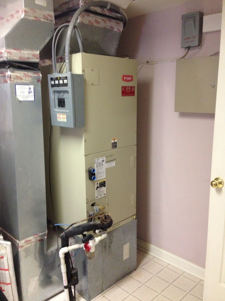 Hanover, MD - bryant heatpump furnace heating & air conditioning system replacement installation repair service call hanover maryland