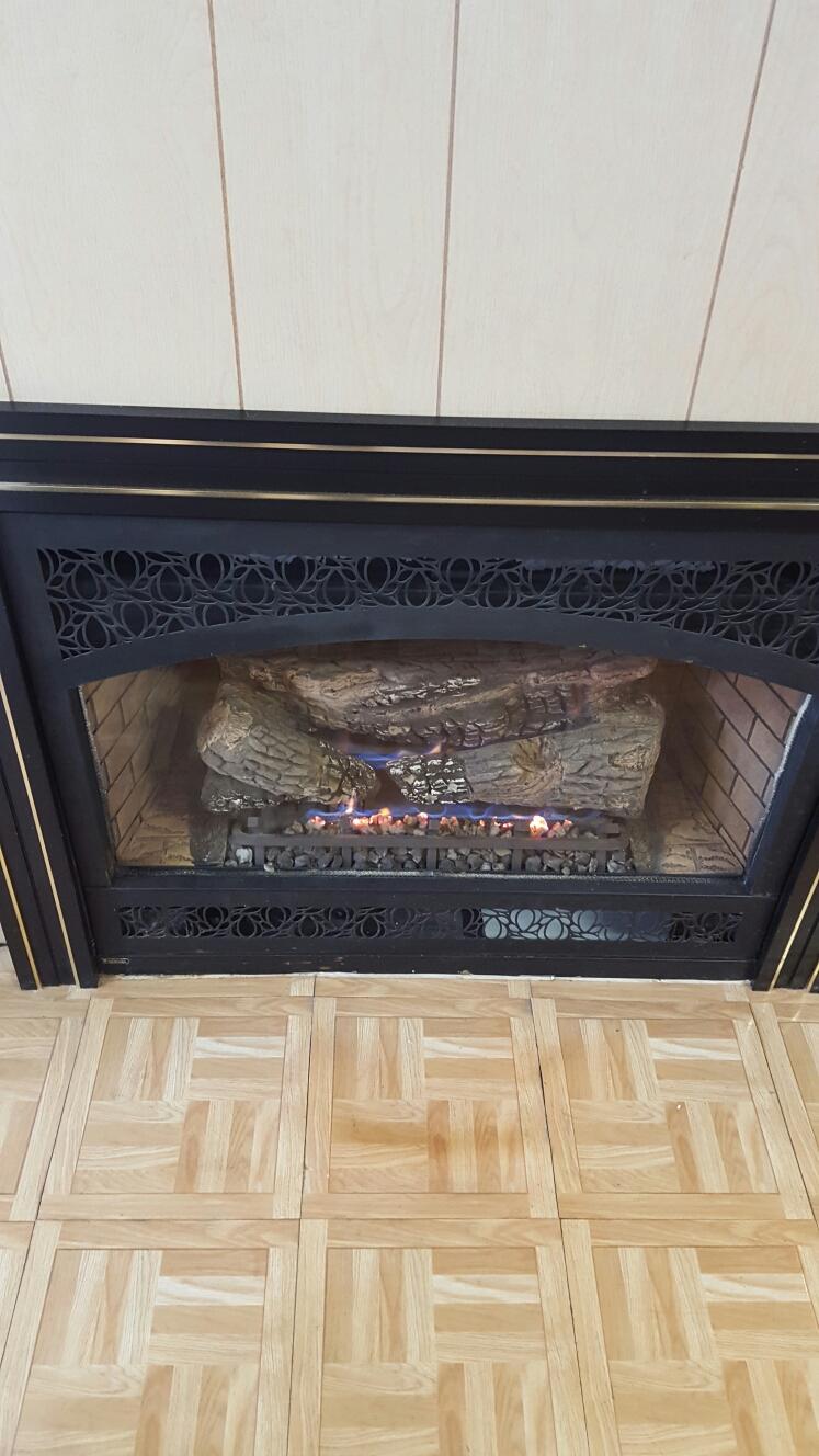 Gambrills, MD - mendota gas fire place insert & gas log set installation repair service call gambrills maryland