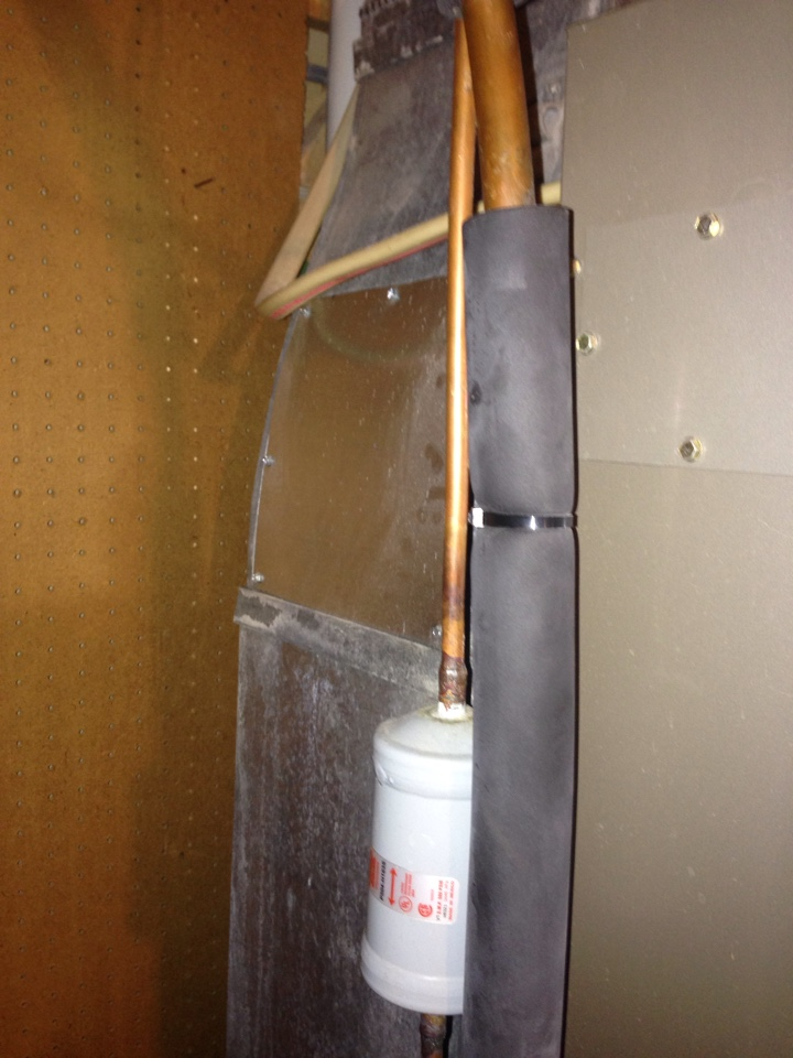 Crofton, MD - Goodman York heating & air conditioning system furnace humidifier replacement installation repair service call Crofton Maryland