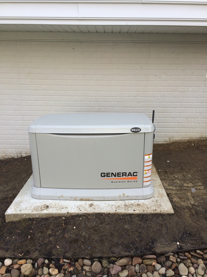 Crofton, MD - Generac automatic stand by generator installation repair service call Crofton Maryland