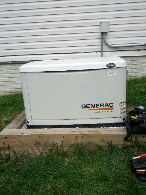 Bryans Road, MD - Generac standby backup home generator repair service.