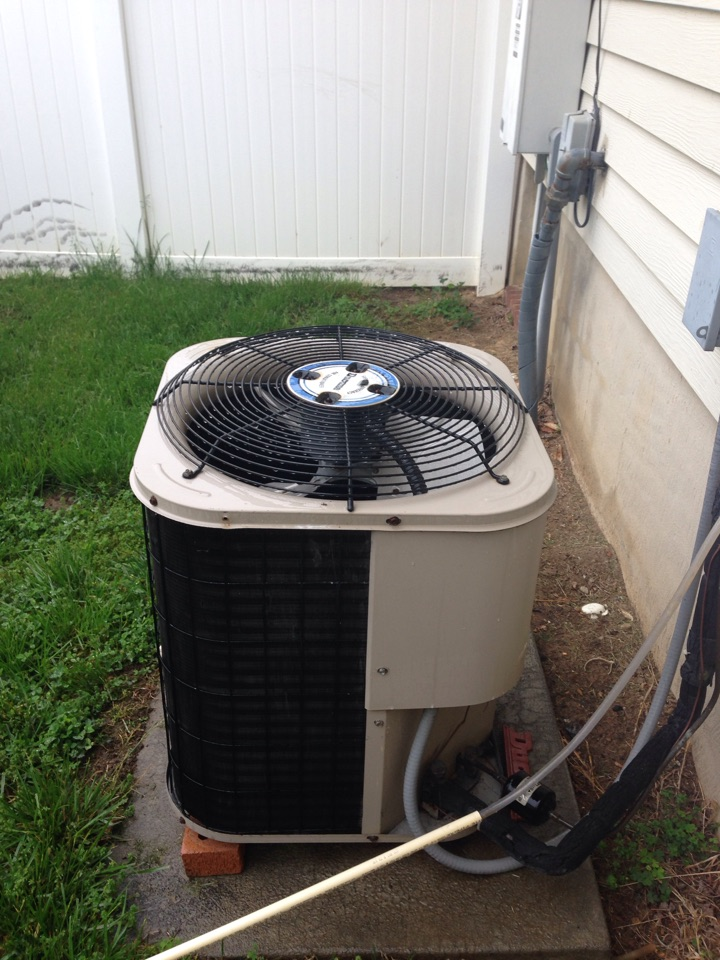 Savage, MD - Ducane heat pump air conditioning & heating system replacement installation Savage Maryland