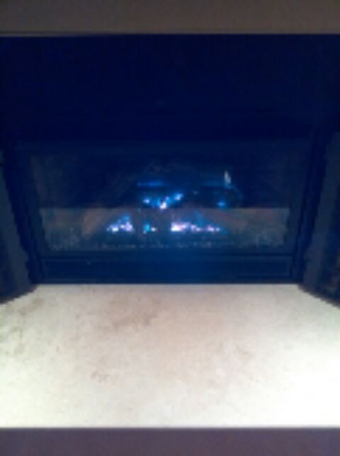 Crownsville, MD - Gas fireplace insert & logs installation repair service in Crownsville Maryland.