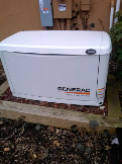 Crownsville, MD - Generac standby generator installation repair service call in Crownsville Maryland.
