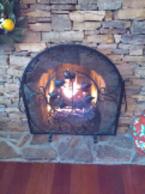 Crownsville, MD - Gas fireplace installation repair service call in Crownsville Maryland.