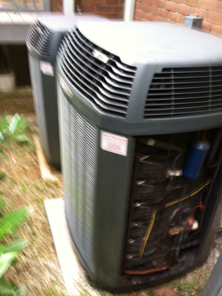 Gambrills, MD - trane ac air conditioner gas furnace heating & air conditioning system replacement installation service call in gambrills maryland.