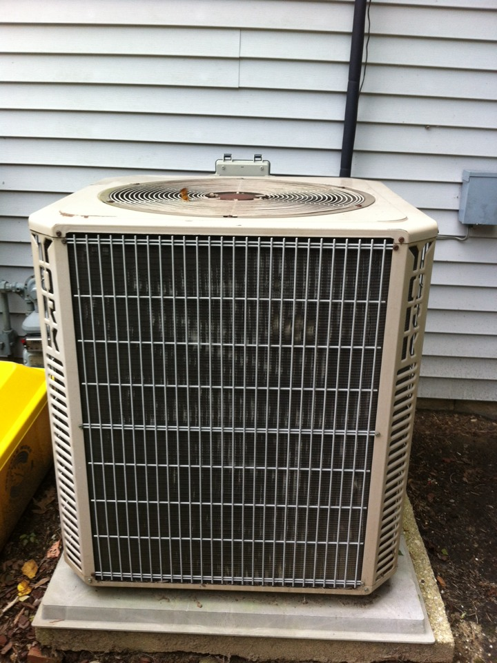 Crofton, MD - york furnace ac heating and air conditioning system repair service call in crouton maryland.