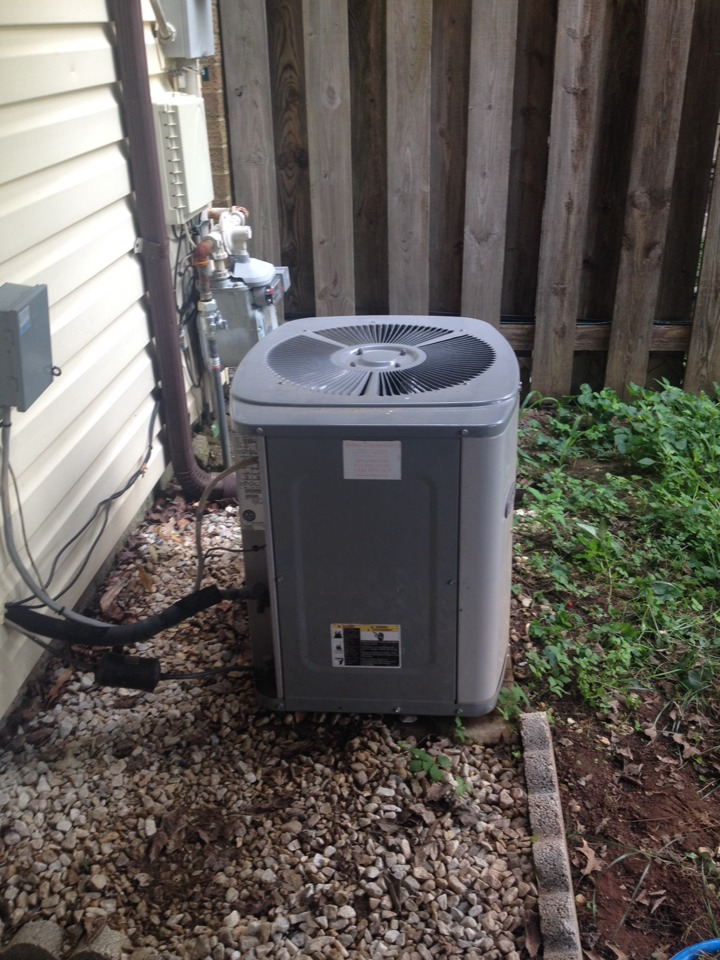 Crofton, MD - Gas heating furnace & ac air conditioning system replacement installation service call in Crofton Maryland.
