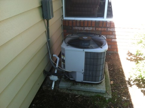Crofton, MD - AC furnace humidifier heating and air conditioning system replacement installation service call in Crofton Maryland.