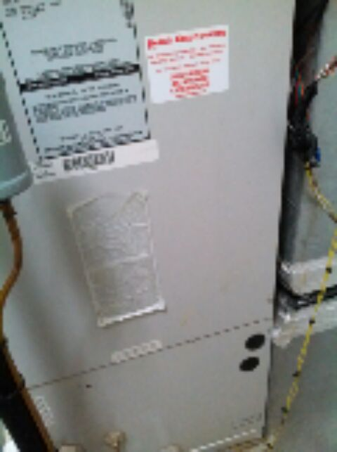 Gambrills, MD - Heat pump furnace heating & air conditioning system installation repair service call in Gambrills Maryland.
