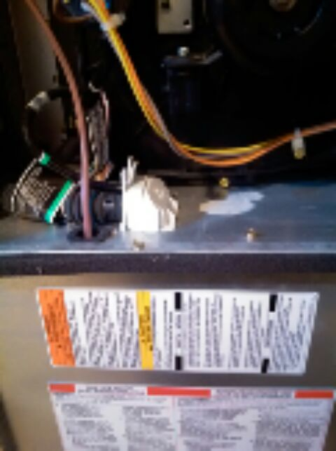 Crofton, MD - Gas furnace heating & air conditioning system installation repair service call in Crofton Maryland.