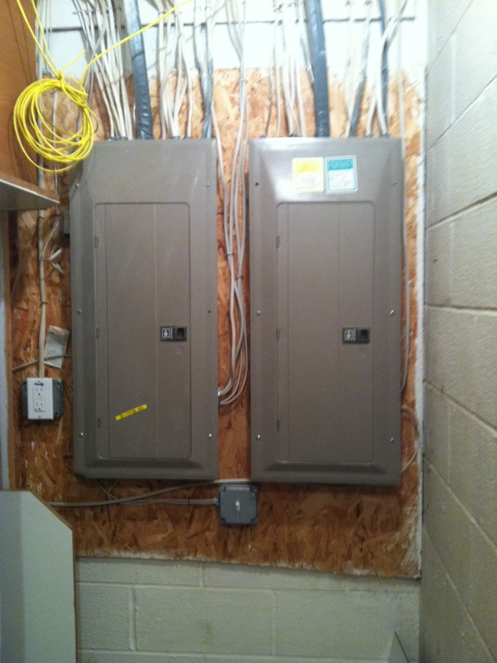Gambrills, MD - Standby generator installation repair service call in Gambrills Maryland.