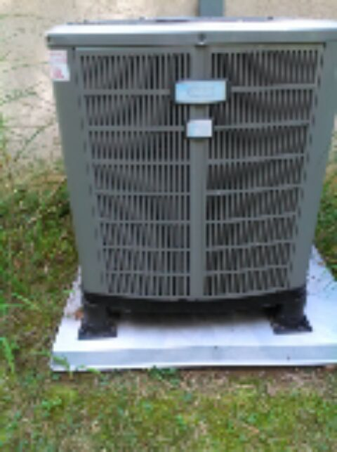 Gambrills, MD - American Standard heat pump furnace ac heating & air conditioning system replacement installation service call in Gambrills Maryland.