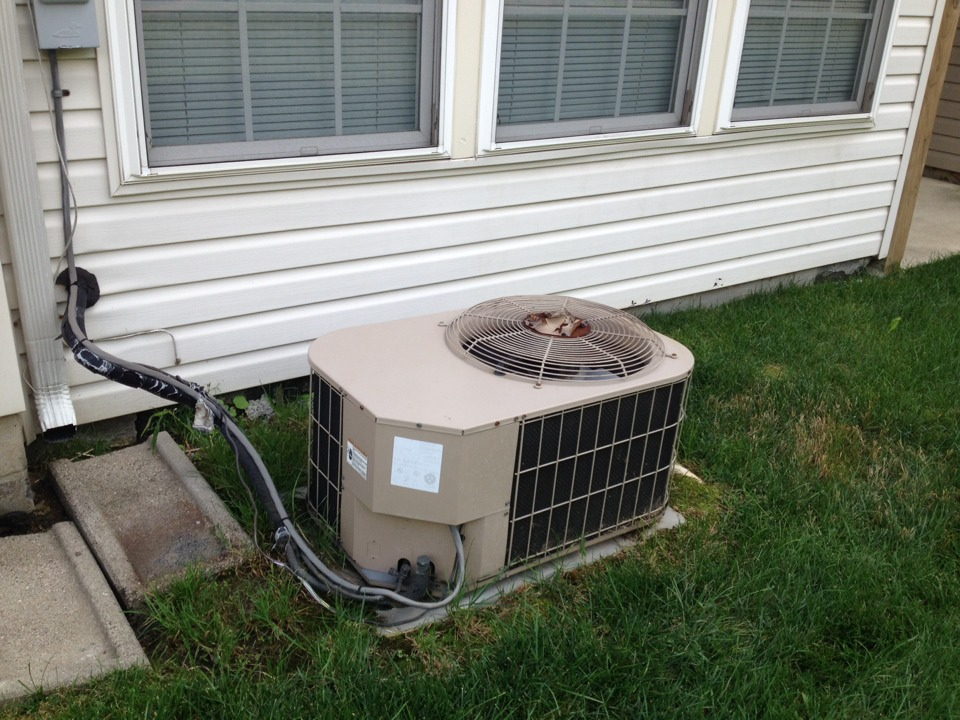 Gambrills, MD - York gas furnace AC heating & air conditioning system replacement installation service call in Gambrills Maryland.