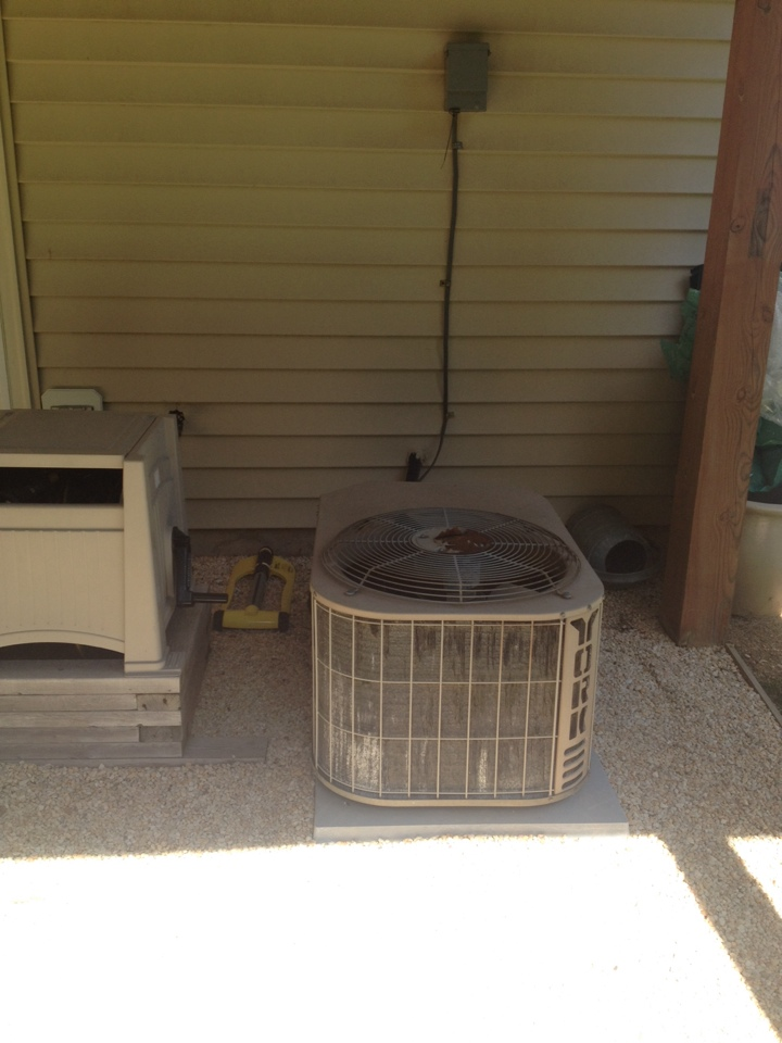Gambrills, MD - York gas furnace heating & air conditioning system replacement installation in Gambrills Maryland.