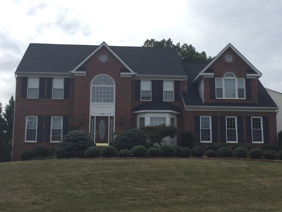 La Plata, MD - New GAF timberline roof charcoal black