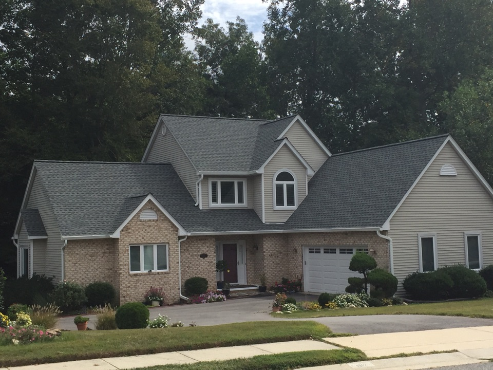 La Plata, MD - Just recently completed this beauty GAF Timberline color slate