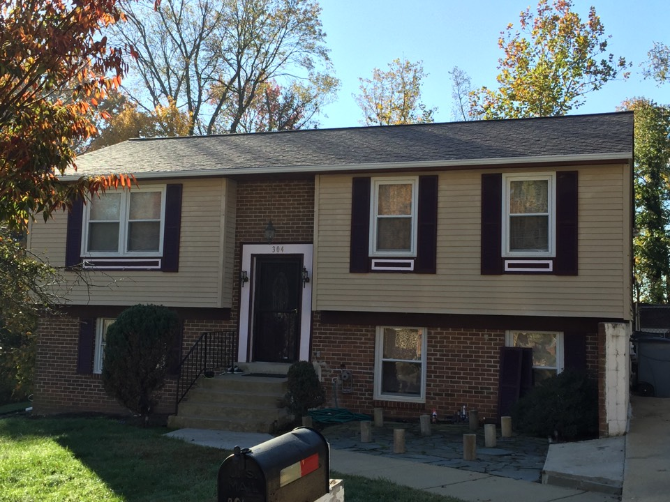 Fort Washington, MD - New GAF roof and gutters