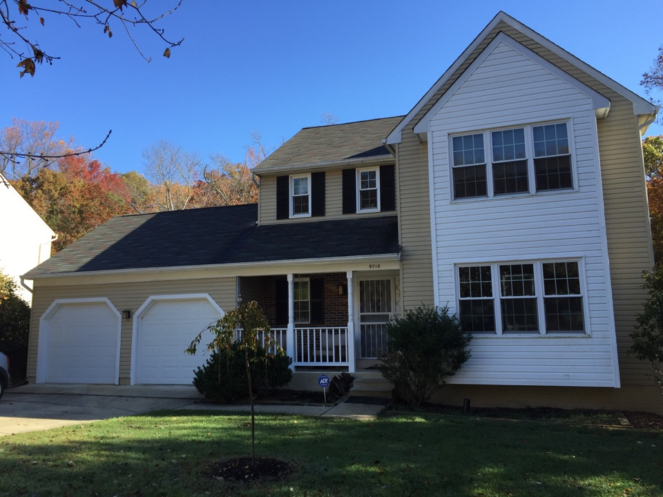 Fort Washington, MD - New GAF timberline charcoal roof to be installed by Thanksgiving