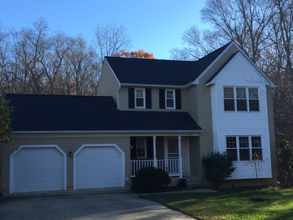Fort Washington, MD - Another beautiful GAF Timberline roof completed