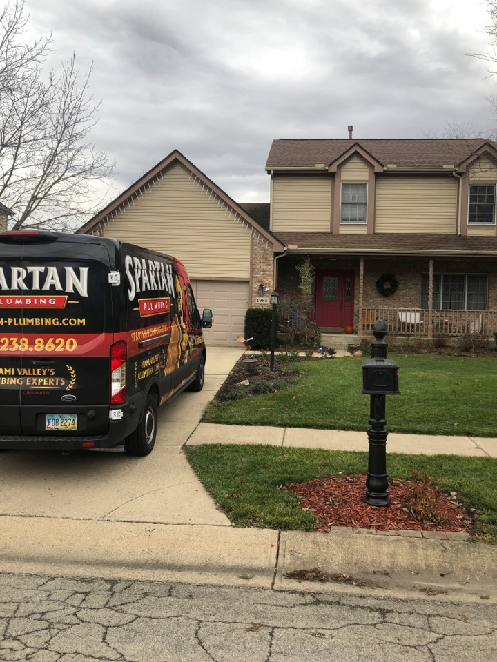 Bellbrook, OH - Replaced sump pump in Bellbrook, OH