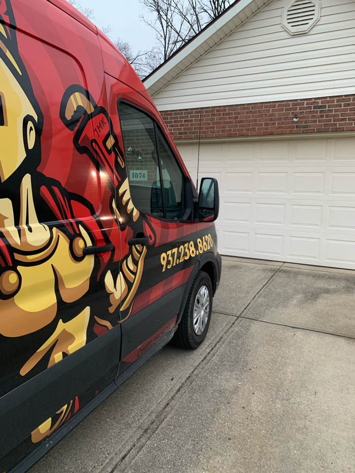 Miamisburg, OH - Just snaked a kitchen drain and replaced the kitchen drain!