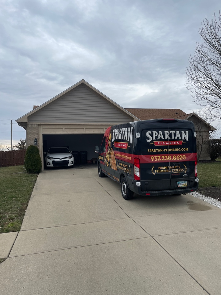 Miamisburg, OH - Replaced gas line for whole home in Miamisburg, OH