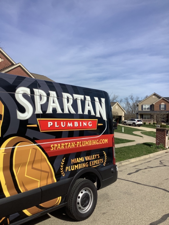 Fairborn, OH - Installed new outside faucet in Fairborn!