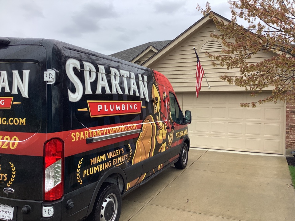 Miamisburg, OH - Fixed a water leak in Centerville!