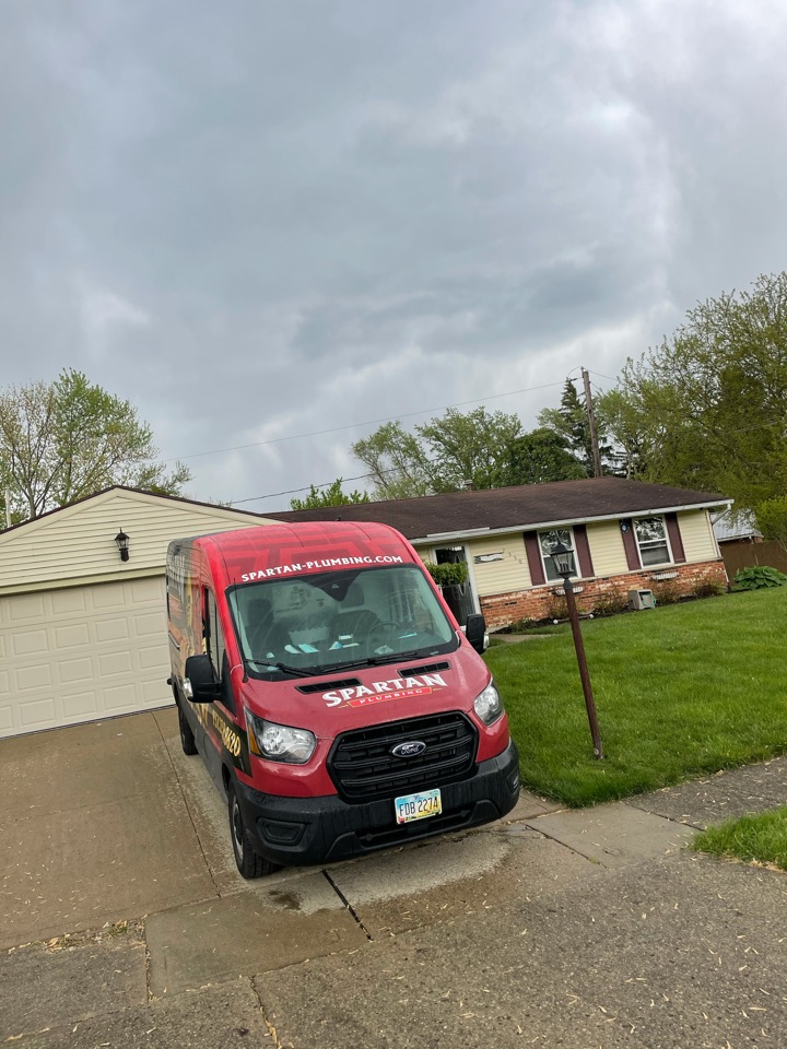 Replaced drain lines under the slab in Dayton, OH