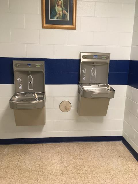 Shorewood, IL - Install (2) commercial drinking fountains.
