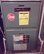 New Lenox, IL - Clean and inspect 90% rheem furnace